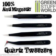 Pinzas Precision QUARTZ 100% Anti-Magneticas y Anti Acidos - Setx4 - Modelismo