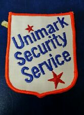 VINTAGE UNIMARK SECURITY SERVICE UNKNOWN (POLICE) PATCH