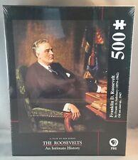 FRANKLIN ROOSEVELT Salisbury 500 Jigsaw Puzzle, NEW SEALED, Ken Burns Film PBS