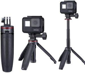 Ulanzi MT-09 Extendable Mini Tripod Vlogging Stand For Gopro Hero 8 7 6 5 Camera