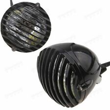 Motorcycle Retro Black Grill Headlight For Harley YM