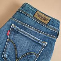 Levi 470 Jeans Straight Zip Fly Blue Vintage Women's (PatchW30L32) W 28 L 32