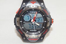 Lapgo 100M Water Resistant Sports Watch, Analog Digital Dual Time Display, 10ATM