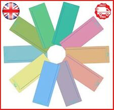 Crossbow Education Plain Window Reading Ruler - Multi-Colour Pack of 10