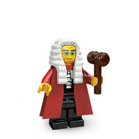 Genuine Lego Minifigures Series 9 High Court Judge Minifig