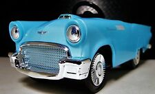 Tailfins Pedal Car Thunderbird Ford Vintage 1950s Metal >>>READ FULL DESCRIPTION