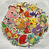 80pc POKEMON GO Pikachu Stickers Cartoon Skateboard Laptop Sticker Luggage Decal