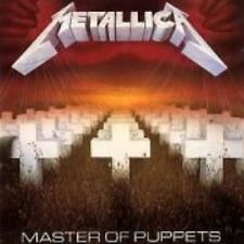 Metallica - Master of Puppets Music CD 1989 Polygram