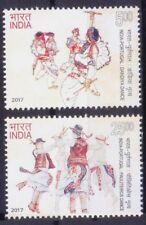 India Portugal Joint Issue 2017 MNH 2v, Dance, Music