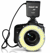 Aputure AHL-HC100 CRI 95+ LED Macro Ring Flash Light for Canon 550D 5D II III