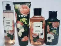 Bath & Body Works ROSE Lotion Shower Gel Fragrance Mist Cream  You Choose one