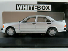 WhiteBox WB246 Mercedes-Benz 190E 2.3 16V (1988) in silbermetallic 1:43 NEU/OVP