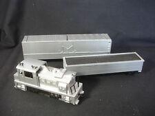 Collectible Tyco Locomotive Train Set Silver