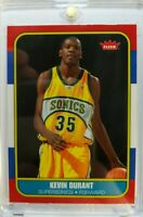 Rare: 2007 07-08 Fleer 86 Retro Kevin Durant Rookie RC #86R-143, Glossy Parallel