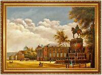 Ölbild Vedute Berlin Eduard Gärtner ÖLGEMÄLDE HANDGEMALT Gemälde F:60x80cm