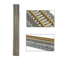 1pc HO scale Model Railway 1:87 Stone Roadbed 48cm