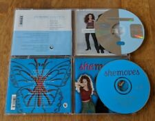 She Moves CD Lot - Breaking All The Rules - CD Single And Full Length Album!