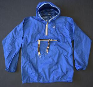 K-Way Mens Blue Front Zip Long Sleeve M
