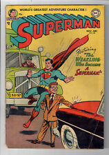 """Superman #85 - Grade 4.0 - """"The Weakling Who Became a Superman!"""" Golden Age!"""