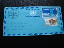 NATIONS-UNIS (new-york) - aerogramme 1977 (cy93) united nations