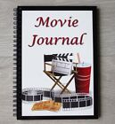 Movie Journal - A5 Wire Bound Book to Record Details of Movies you Watch