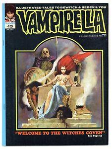 Vampirella 15 Jose Gonzales! Corben! 1972 Warren vampire horror witches A171