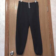 New listing Vintage Jerzees Sweat Pants Joggers Size Xl Black Guc E1500
