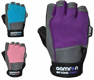 Aamron ® W2B GEL Weight Lifting Gloves Body Building Gym Cycling Training Womens