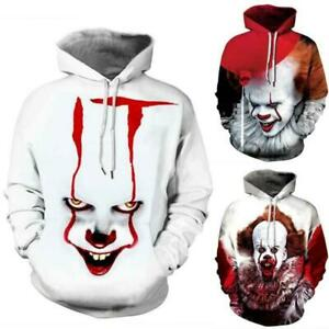 Womens Mens Hoodie Sweatshirt 3D Graphic Cartoon Casual Pullover Jumper Coat Top