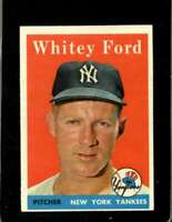 1958 TOPPS #320 WHITEY FORD EXMT YANKEES HOF  *XR20149