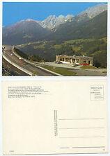 28080 - Rasthaus Schönberg, Tirol - Brennerautobahn - alte Ansichtskarte