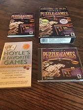 Hoyle Puzzle Games PC In Box Game XP Etc PC3