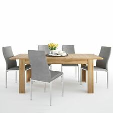 Cortina Dining set package Cortina Extending dining table in Grandson Oak + 6 Mi