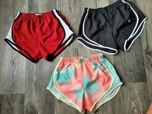 LOT OF 3 Size XS Varsity Spirit  Athletic Training Running Shorts