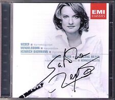 Sabine MEYER Signiert WEBER MENDELSSOHN BAERMANN Clarinet Quintet CD Wolfgang