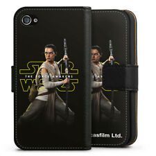 Apple iPhone 4 bolso funda flip case-Rey