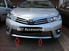 MIT TOYOTA Corolla Altis 2014-on Front down chrome garnish spoiler trim