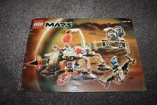 LEGO Building Instruction Booklet No.7316 Life on Mars Excavation Searcher