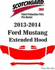 3M Scotchgard Paint Protection Film Pro Series Pre-Cut 2013 2014 Ford Mustang