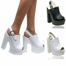 Buckle Block Standard (B) Width Synthetic Boots for Women