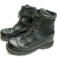 "THOROGOOD 8"" Trooper Waterproof Side Zip Leather Uniform Boots 834-7991 Men 13 M"