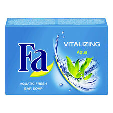 (1,29€/100g) 100g Fa Vitalizing Aqua Handseife Blockseife Aquatic Fresh