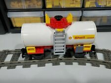 Lego Custom Tanker Car 7939 Shell With Stickers!