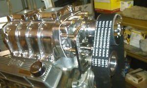 "NEW  Blower Supercharger 1360 8mm drive belts 3"" wide DEANBLOWERS.com"