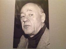 EUGÈNE IONESCO  - Photo de presse originale 13x18cm