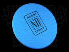 NARDI CLASSIC STEERING WHEEL COVER PROTECTOR BLUE FABRIC 350MM-420MM