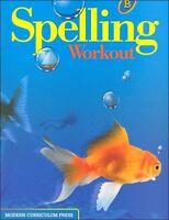Grade 2 MCP Spelling Workout Level B Student Book 2nd Modern Curriculum Press