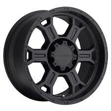 "17"" Vision 372 Raptor Black Wheel 17x9 5x5 -12mm Jeep Wrangler Chevy GMC 5 Lug"
