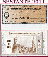 BANCA TRENTO E BOLZANO LIRE 100 18.2. 1977 ATESINA SOC. AUTOMOBILISTICA FDS B121