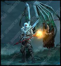 Diablo 3 RoS PS4 [SOFTCORE] Null Modded Pestilence Master Shroud Necromancer Set